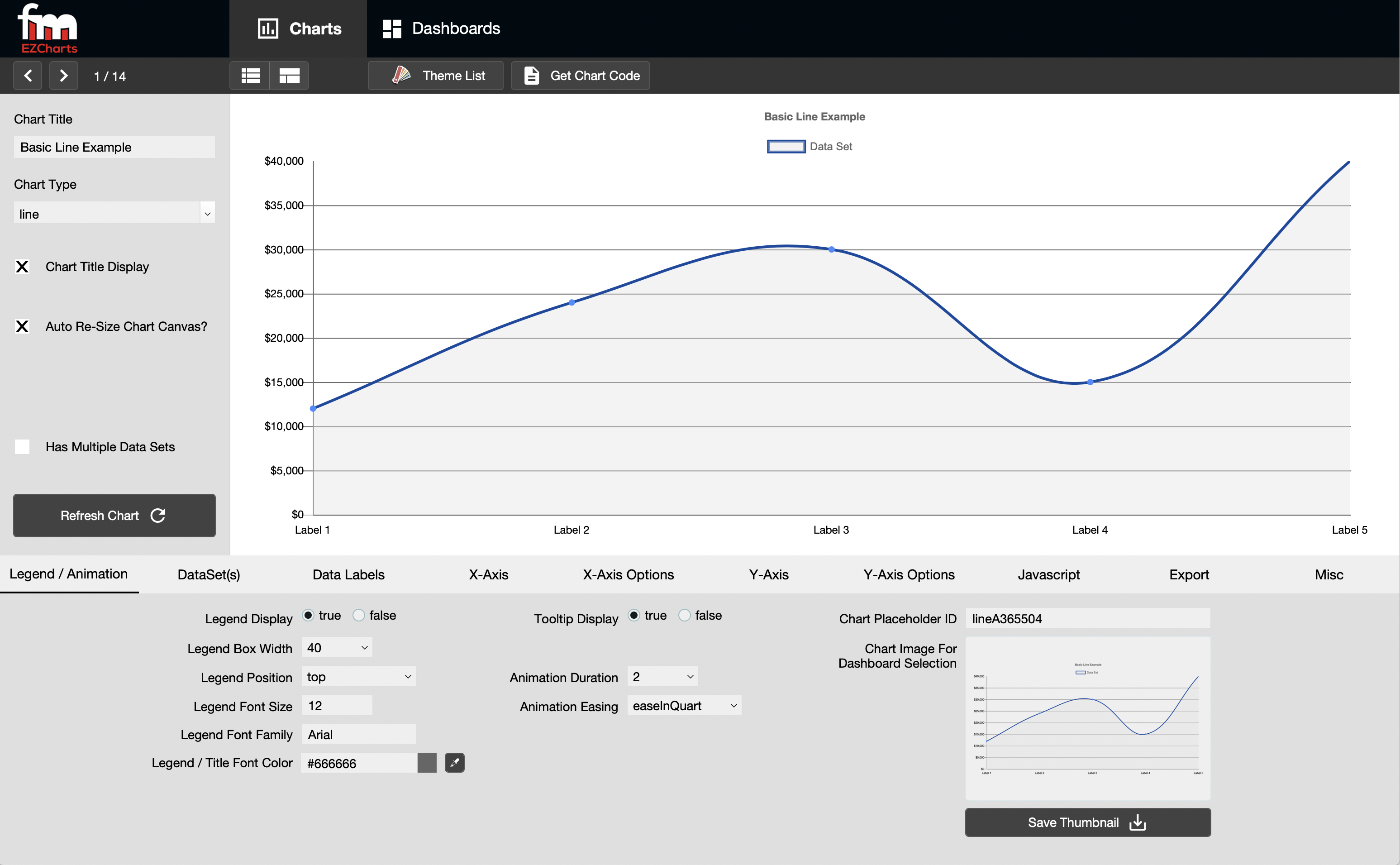 Proof Announces Launch of fmEZcharts, A Chart & Dashboard Creation Tool Image